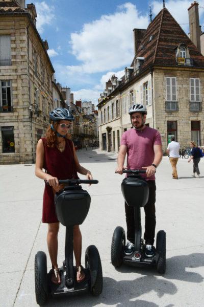 Dijon auf dem Segway besichtigen
