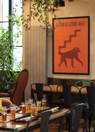 Eine kleine Bierkunde in der Brauerei Un singe en hiver
