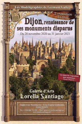Exposition Germain Gallet – « Dijon, renaissance de ses monuments disparus » - 0