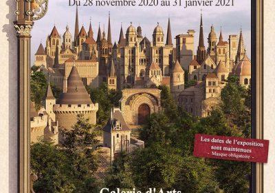 Exposition Germain Gallet – « Dijon, renaissance de ses monuments disparus »