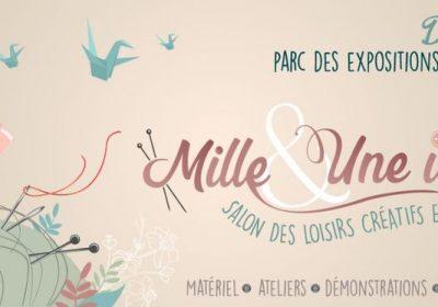 Salon Mille & une idées de Dijon (Salon des loisirs créatifs & du fil)