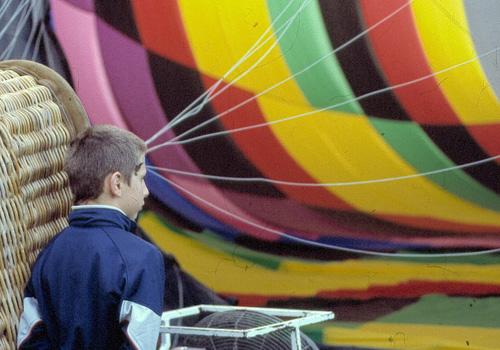 Survol de Dijon en montgolfière - 2