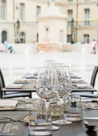 Wo kann man auf der Terrasse essen?